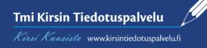 Kirsin tiedotuspalvelun logo.