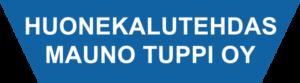 Huonekalutehdas Mauno Tupin logo.
