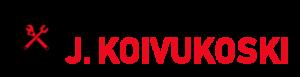 Huoltokorjaamo J. Koivukosken logo.