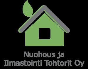 Nuohous ja Ilmastointi Tohtorien logo.