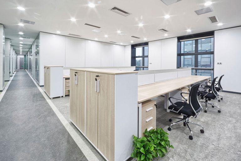 siivoussuunnittelu - kuvituskuva toimistoalueesta